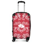 Heart Damask Suitcase (Personalized)