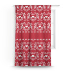 Heart Damask Curtain (Personalized)
