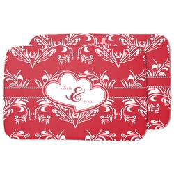 Heart Damask Dish Drying Mat (Personalized)