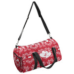 Heart Damask Duffel Bag (Personalized)
