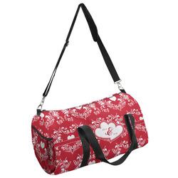 Heart Damask Duffel Bag - Multiple Sizes (Personalized)