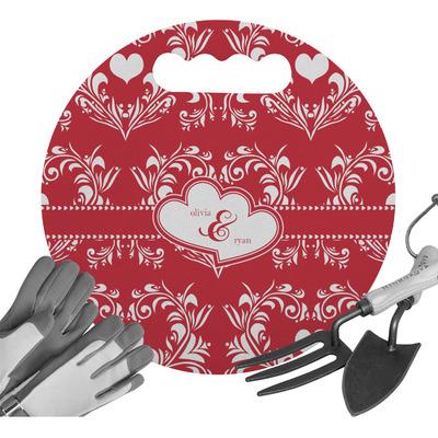 Heart Damask Gardening Knee Cushion (Personalized)