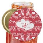 Heart Damask Jar Opener (Personalized)