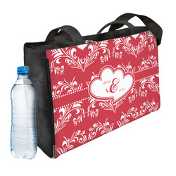 Heart Damask Ladies Workout Bag (Personalized)