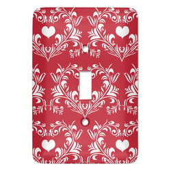 Heart Damask Light Switch Covers (Personalized)