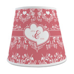 Heart Damask Empire Lamp Shade (Personalized)