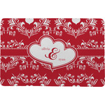 Heart Damask Comfort Mat (Personalized)