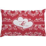 Heart Damask Pillow Case (Personalized)