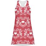 Heart Damask Racerback Dress (Personalized)