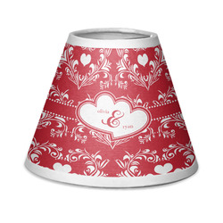 Heart Damask Chandelier Lamp Shade (Personalized)