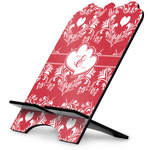 Heart Damask Stylized Tablet Stand (Personalized)