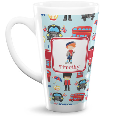 London 16 Oz Latte Mug (Personalized)