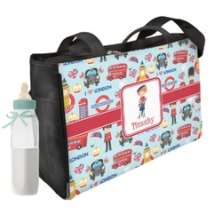 London Diaper Bag (Personalized)