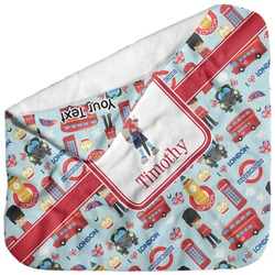 London Baby Hooded Towel (Personalized)