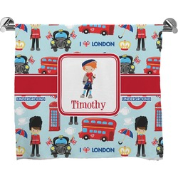 London Full Print Bath Towel (Personalized)