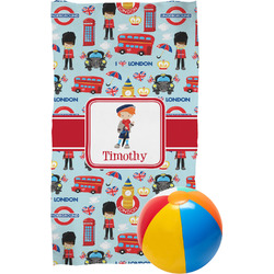 London Beach Towel (Personalized)