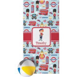 London Beach Towel (Personalized)