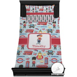 London Duvet Cover Set - Twin (Personalized)