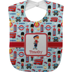 London Baby Bib (Personalized)