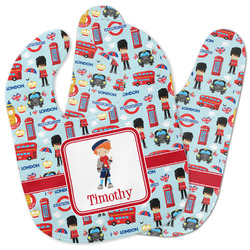 London Baby Bib w/ Name or Text