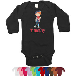 London Bodysuit - Long Sleeves - 0-3 months (Personalized)