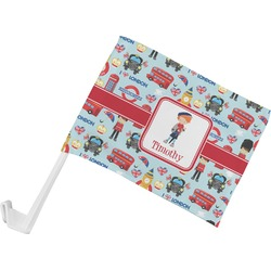 London Car Flag (Personalized)