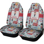 London Car Seat Covers (Set of Two) (Personalized)