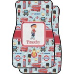 London Car Floor Mats (Front Seat) (Personalized)