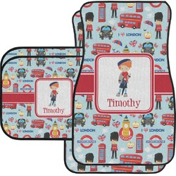 London Car Floor Mats (Personalized)