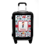 London Carry On Hard Shell Suitcase (Personalized)
