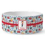 London Ceramic Dog Bowl (Personalized)