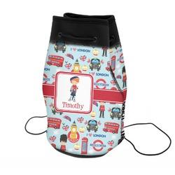 London Neoprene Drawstring Backpack (Personalized)
