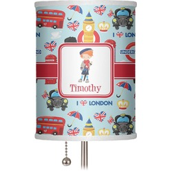 """London 7"""" Drum Lamp Shade (Personalized)"""
