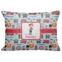 "London Decorative Baby Pillowcase - 16""x12"" (Personalized)"