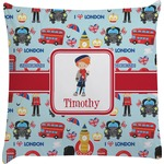 London Decorative Pillow Case (Personalized)