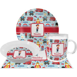 London Dinner Set - 4 Pc (Personalized)