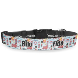 """London Deluxe Dog Collar - Toy (6"""" to 8.5"""") (Personalized)"""