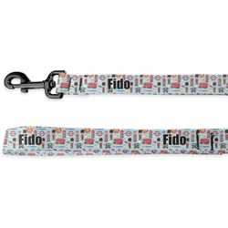 London Deluxe Dog Leash (Personalized)