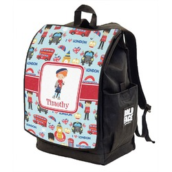 London Backpack w/ Front Flap  (Personalized)