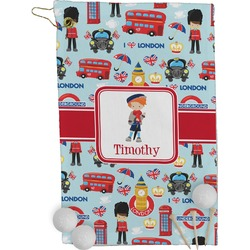 London Golf Towel - Full Print (Personalized)
