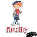 London Graphic Car Decal (Personalized)