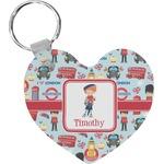 London Heart Keychain (Personalized)