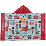 London Kids Hooded Towel (Personalized)
