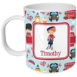 London Plastic Kids Mug (Personalized)