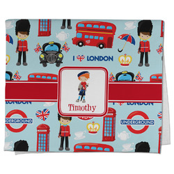 London Kitchen Towel - Full Print (Personalized)