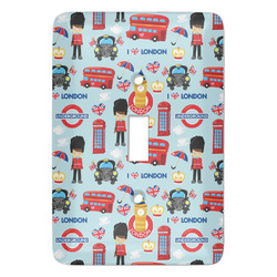 London Light Switch Covers - Multiple Toggle Options Available (Personalized)