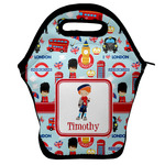 London Lunch Bag w/ Name or Text