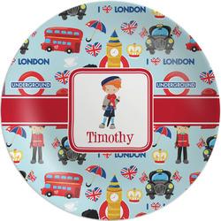 "London Melamine Plate - 8"" (Personalized)"