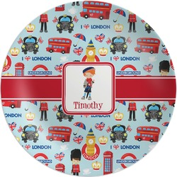 London Melamine Plate (Personalized)