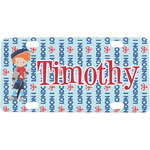 London Mini / Bicycle License Plate (Personalized)